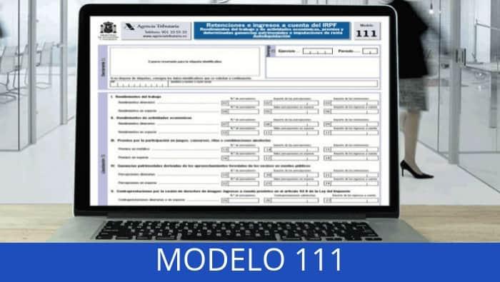 MODELO 111 CÓMO RELLENARLO